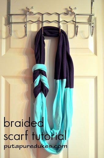 braided scarf