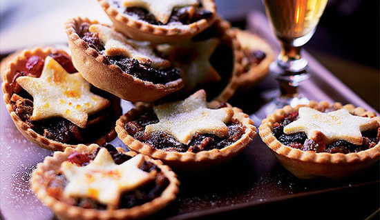 mince pie and beet