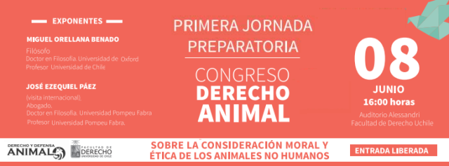 jornada preparatoria congreso derecho animal