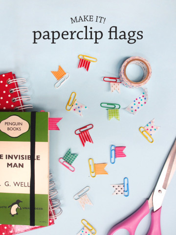 paper and pin
