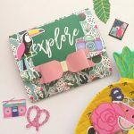 DIY: Envelope Flipbook Tropical