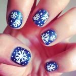 Tutorial: Uñas con Snowflakes. Edición Navidad
