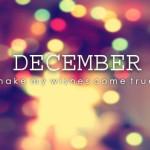 ¡¡Bienvenido Diciembre!!