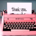 ¡Gracias, Thank You, Merci!
