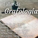Taller de Grafología ¡Están Todas Invitadas!