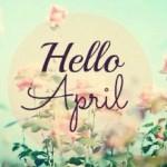 ¡Bienvenido Abril!