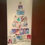 Calendario de Adviento #10. DIY Árbol de Tarjetas de Navidad
