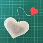 DIY: Bolsitas de Té con Forma de Corazón