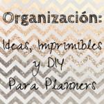 Organización: Ideas, Imprimibles y DIY para Planners