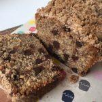 Mila Cocina: Banana Bread con Chips de Chocolate y Cubierta de Migas
