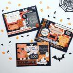 13 Días de Halloween #1: Tarjetas de Halloween [Layering]