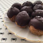 13 Días de Halloween #7: Bolitas Energéticas de Pumpkin Spice [Vegan]