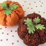 13 Días de Halloween #10: Calabazas de Tela