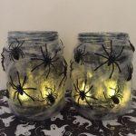 13 Días de Halloween #11: Frascos Creepy