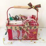 Calendario de Adviento #1 Caddy de Navidad
