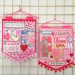 DIY: Banderines de San Valentín
