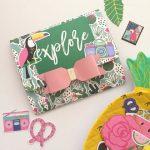 DIY: Envelope Flipbook Tropical